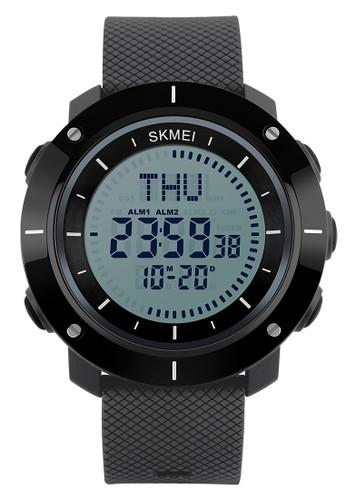 Digitec black Skmei Compass Watch - Jam Tangan Pria - Grey - 1216-C DI108AC59EIYID_1