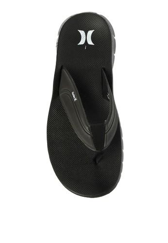 hurley black Fusion 2.0 Sandal AC13ASHC67DFC6GS_1
