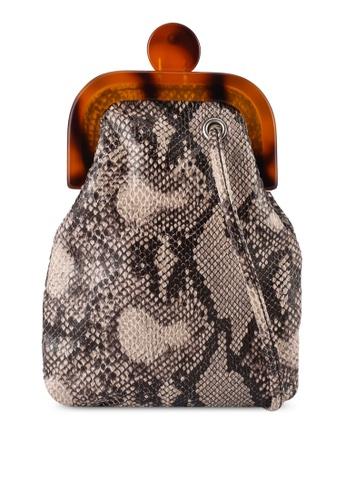 niko and ... brown Snake Bag 8871BAC5878EC9GS_1