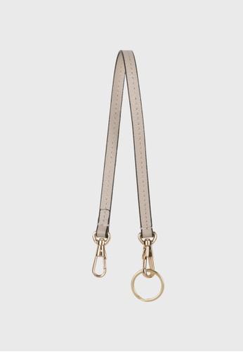 Tocco Toscano beige Lunar Leather Leash (Beige) 4234FACA87A06FGS_1