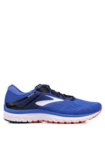 Brooks blue Adrenaline GTS 18 Wide Shoes 9C252SH517991FGS_1