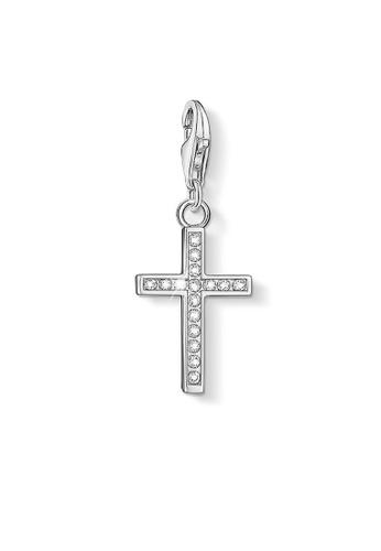 """THOMAS SABO silver Charm Pendant """"Cross"""" 538B9AC90EAB06GS_1"""