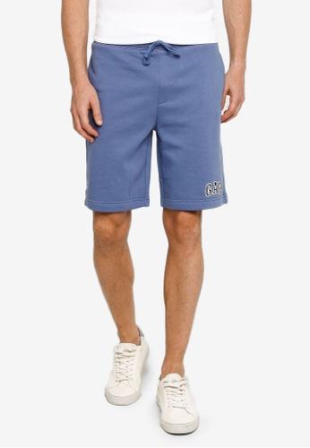 GAP blue New Arch Logo Shorts B981CAA24E911FGS_1