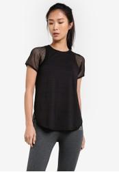 AVIVA black Short Sleeve Tee AV679AA0S9FLMY_1
