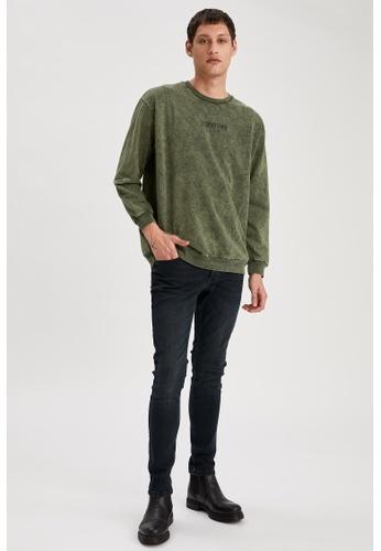 DeFacto green Super Skinny Trousers 81640AAF3F22D6GS_1