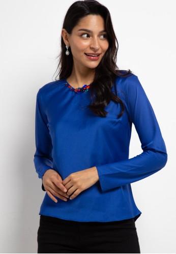 LUIRE by Raden Sirait blue FM Inner Pendek Lengan Panjang DTL 6149DAAE1581CBGS_1