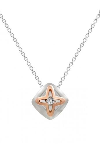 JEOEL silver JEOEL Awy Diamond Cushion Pendant 852CDAC0D736F7GS_1