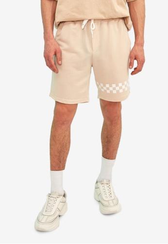 Trendyol beige Regular Fit Bermuda Shorts 80B52AA56B44DBGS_1