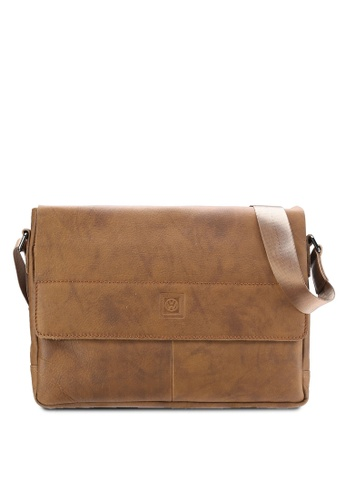 Volkswagen brown Volkswagen Genuine Leather Bag VO089AC45MVAMY_1
