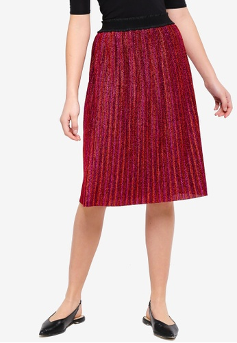 Modstrom red Jillian Skirt 0AD41AAD104047GS_1