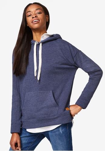 ESPRIT navy Long Sleeve Sweatshirt FEBE7AA57957B4GS_1