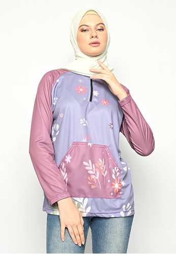 My Daily Hijab purple Najla Jersey 364E4AAC8DA9ACGS_1