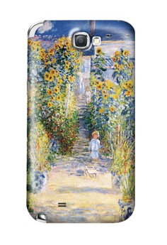 Artists Garden Matte Hard Case for Samsung Galaxy Note 2