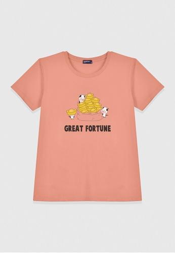 Cheetah beige Cheetah Ladies Graphic Tee-CL-95108 453BAAA8968118GS_1