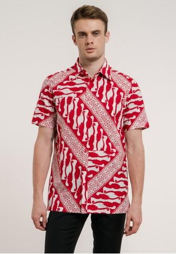 Bateeq red SS21 Parang Banji Men's Regular Short Sleeve 045 06EABAAA55B300GS_1