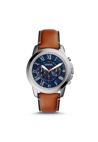 Fossil GRANT紳士型zalora 手錶 評價男錶 FS5210, 錶類, 紳士錶