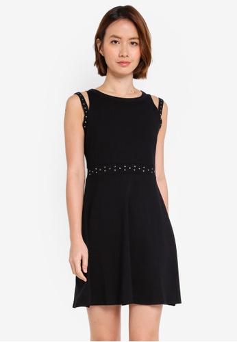 OVS black Knitted Dress 808CBAA8583D1CGS_1