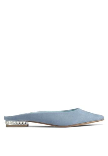 VINCCI blue Slip on Heels 60317SHD7E170FGS_1