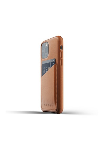 Mujjo brown Mujjo Full leather Wallet case for iPhone 11 Pro Tan 1DF4CACB4B73D1GS_1