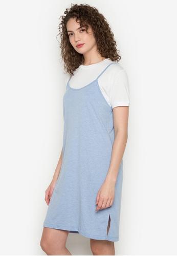 Verve Street blue Jolie Dress VE915AA0JXHPPH_1