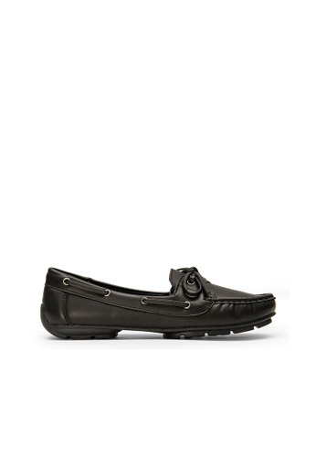 SEMBONIA black SEMBONIA Synthetic Leather Loafer (Black) 342CBSHA92EC21GS_1