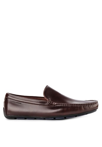 Obermain brown Carl Samuel - Slip On Plain F2812SH801FB6BGS_1
