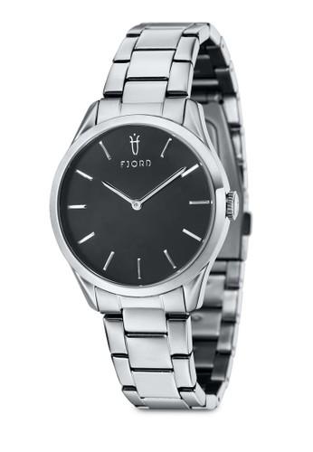 VENDELA 雙指針金屬鍊圓框錶, 錶esprit 台中類, 飾品配件