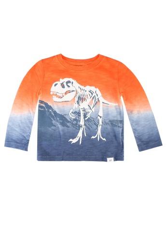 GAP orange Toddler Dip-Dye Graphic T-Shirt DEAE9KA0E3FEF7GS_1