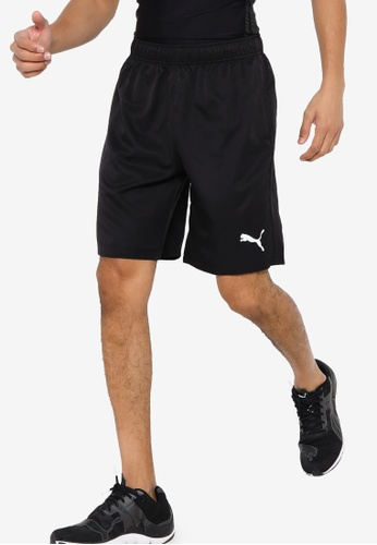 "PUMA black Active Woven 9"" Men's Shorts 6B472AA8E163CFGS_1"