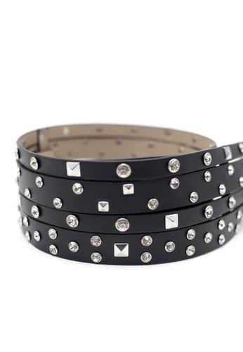 London Rag black London Rag New Arrival Ladies Fashion Belt BL0013 81969ACF2A46A9GS_1