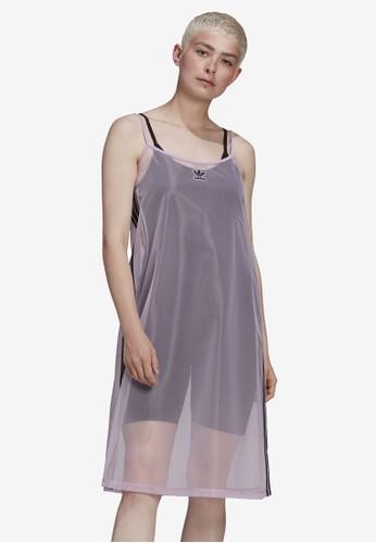 ADIDAS purple mesh dress 074CCAA75F403AGS_1