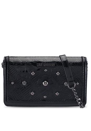 Love Moschino black LOVE MOSCHINO Shoulder Bag LO478AC0SXWEMY_1