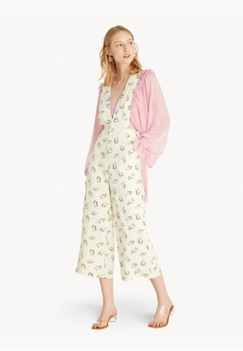 Pomelo multi Buttoned Floral Overall - Cream 42A31AA9412D97GS_1