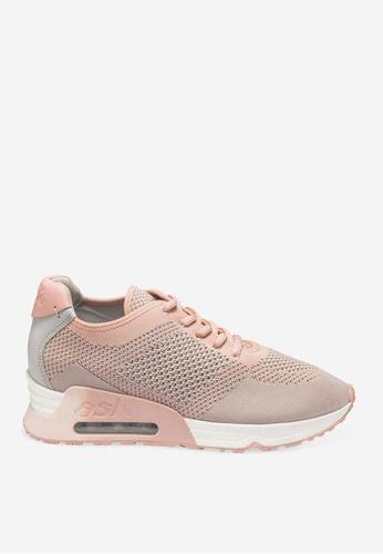 Ash 粉紅色 Lucky - 海軍藍網孔編織運動鞋 1F731SH956C737GS_1