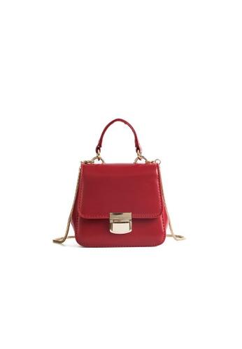 Lara red Women's Top-Handle Sling Bag CD417ACF0B7D42GS_1