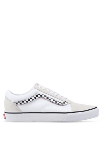 4972b70b530 VANS white Old Skool Sidestripe V Sneakers 8B855SHD4E2B22GS 1