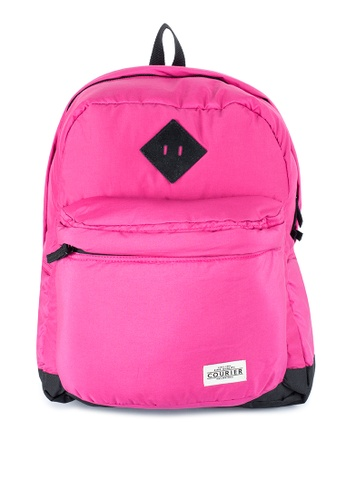 Courier pink Plain Bakcpack CO826AC42MLLPH_1