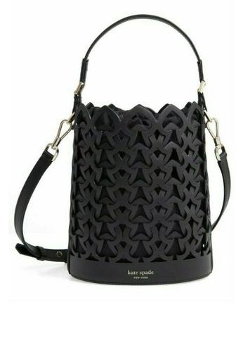 kate spade new york black Dorie Medium Bucket Bag (cv) 03132AC9572082GS_1