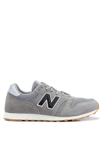 New Balance grey 373 Lifestyle Shoes 6BA14SH92E2F48GS_1