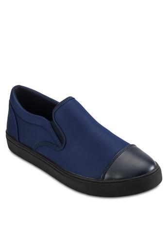 滑面仿皮鞋頭懶zalora 折扣碼人鞋, 鞋, 懶人鞋