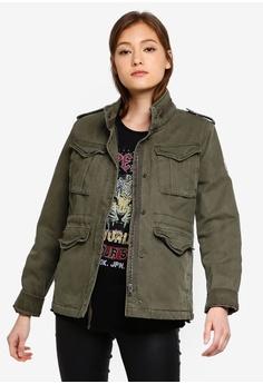 b04c0c4d Superdry beige Classic Winter Rookie Militry Jacket 0832EAA59ACAC1GS_1