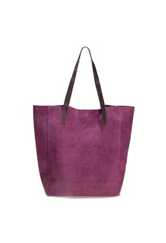 086f1bbe43e 25% OFF Shu Talk DMR Touch Mulberry Suede Leather Shoulder Shopping Tote  Bag HK$ 1,290.00 NOW HK$ 967.00 Sizes One Size