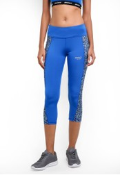 2GO blue Tight Fit Running Capris 2G729AA0S5V8MY_1