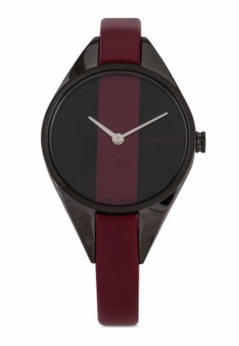 Calvin Klein Watches 紅色 Rebel 手錶 D97B1ACBA3166FGS_1