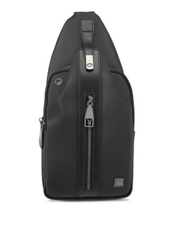 Playboy black Playboy Chest Bag PL371AC0SK1TMY_1