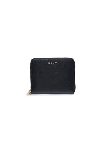 Dkny black DKNY Women Bryant Zip Around Wallet - Spring & Summer 2021 AE196ACFD60D33GS_1