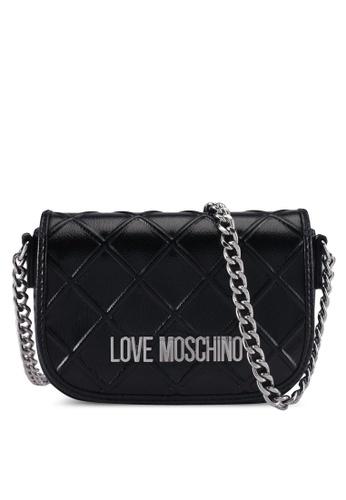 Love Moschino black LOVE MOSCHINO Sling Bag LO478AC0SXWTMY_1