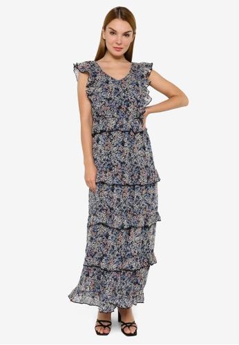 JACQUELINE DE YONG multi Larisa Maxi Dress 49B97AABE206E3GS_1