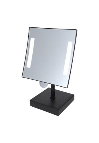 JVD JVD Lifestyle Galaxy Desktop Cosmetic Mirror – Magnification 3X, black finishing DA367HL408431CGS_1