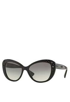 Rock Icons Crystal Charm Sunglasses